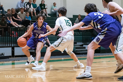 Broughton JV boys basketball vs Cardinal Gibbons. February 7, 2019. 750_3276