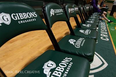Broughton JV boys basketball vs Cardinal Gibbons. February 7, 2019. MRC_3828