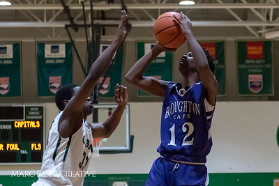 Broughton JV boys basketball vs Cardinal Gibbons. February 7, 2019. 750_3285
