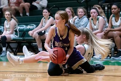 Broughton JV girls basketball vs Cardinal Gibbons. February 7, 2019. 750_3051