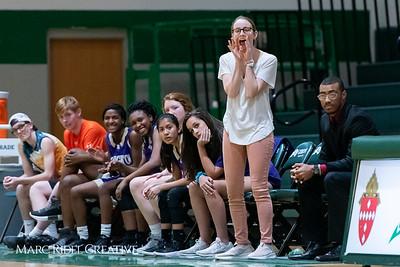 Broughton JV girls basketball vs Cardinal Gibbons. February 7, 2019. 750_3063