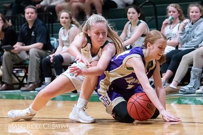 Broughton JV girls basketball vs Cardinal Gibbons. February 7, 2019. 750_3048