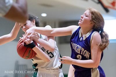 Broughton JV girls basketball vs Cardinal Gibbons. February 7, 2019. 750_3018
