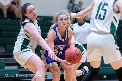 Broughton JV girls basketball vs Cardinal Gibbons. February 7, 2019. 750_3025