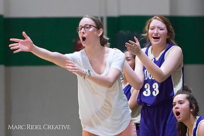Broughton JV girls basketball vs Cardinal Gibbons. February 7, 2019. 750_2972