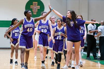 Broughton JV girls basketball vs Cardinal Gibbons. February 7, 2019. 750_3080