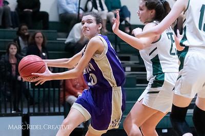 Broughton JV girls basketball vs Cardinal Gibbons. February 7, 2019. 750_2992
