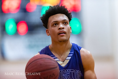 Broughton basketball at Leesville. February 5, 2019. 750_2615