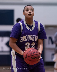 Broughton JV girls basketball vs Millbrook. January 22, 2019. 750_5492