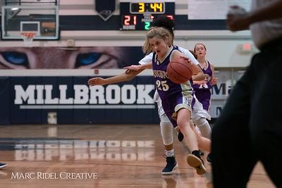 Broughton JV girls basketball vs Millbrook. January 22, 2019. 750_5591