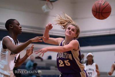 Broughton JV girls basketball vs Millbrook. January 22, 2019. 750_5616