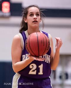 Broughton JV girls basketball vs Millbrook. January 22, 2019. 750_5502