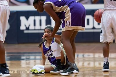 Broughton JV girls basketball vs Millbrook. January 22, 2019. MRC_1748