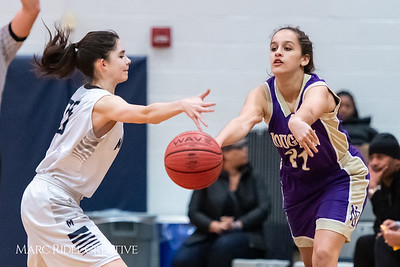 Broughton JV girls basketball vs Millbrook. January 22, 2019. MRC_1715