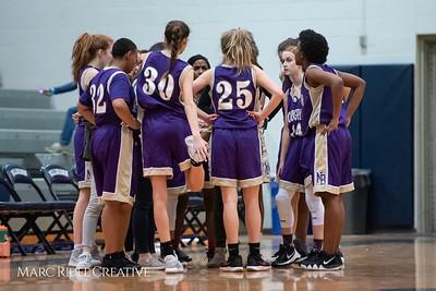Broughton JV girls basketball vs Millbrook. January 22, 2019. 750_5543