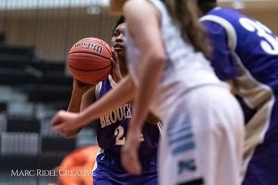 Broughton girls JV basketball at Panther Creek. January 3, 2019. 750_0434