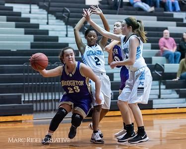 Broughton girls JV basketball at Panther Creek. January 3, 2019. 750_0563