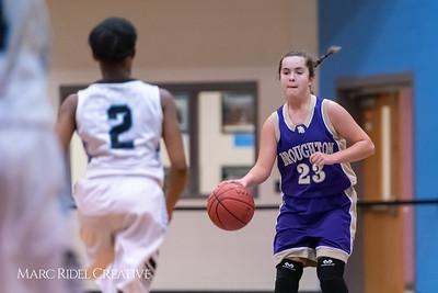 Broughton girls JV basketball at Panther Creek. January 3, 2019. 750_0548