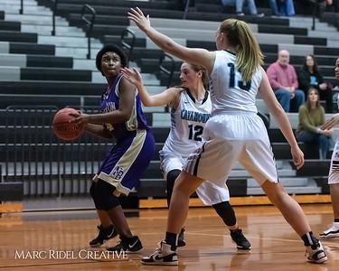 Broughton girls JV basketball at Panther Creek. January 3, 2019. 750_0481