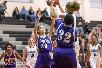 Broughton girls JV basketball at Panther Creek. January 3, 2019. 750_0472