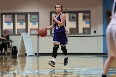 Broughton girls JV basketball at Panther Creek. January 3, 2019. 750_0429
