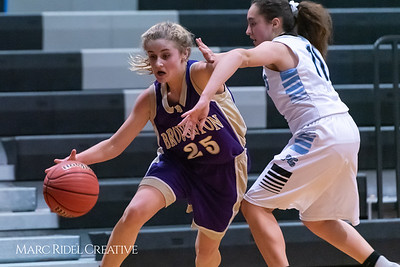 Broughton girls JV basketball at Panther Creek. January 3, 2019. 750_0568