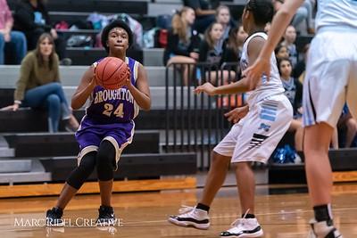 Broughton girls JV basketball at Panther Creek. January 3, 2019. 750_0515