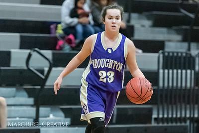 Broughton girls JV basketball at Panther Creek. January 3, 2019. 750_0443