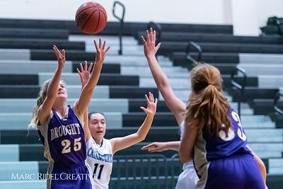 Broughton girls JV basketball at Panther Creek. January 3, 2019. 750_0572