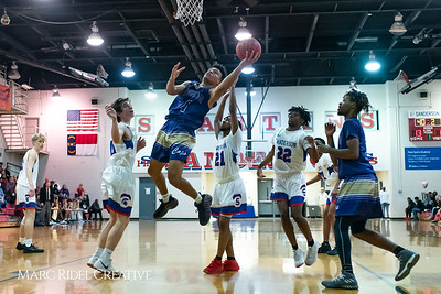 Broughton boys varsity basketball vs Sanderson. February 12, 2019. 750_6251