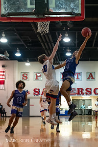 Broughton boys varsity basketball vs Sanderson. February 12, 2019. 750_6256