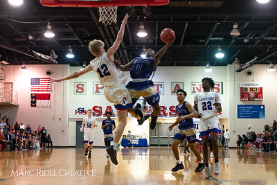 Broughton boys varsity basketball vs Sanderson. February 12, 2019. 750_6271