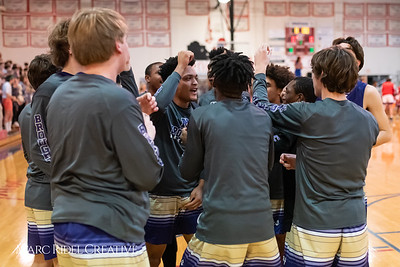 Broughton boys varsity basketball vs Sanderson. February 12, 2019. 750_6181