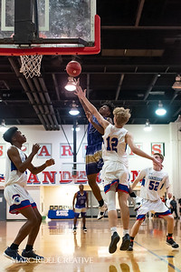 Broughton boys varsity basketball vs Sanderson. February 12, 2019. 750_6267