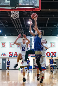 Broughton boys varsity basketball vs Sanderson. February 12, 2019. 750_6279