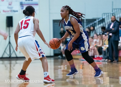 Broughton girls varsity basketball vs Sanderson. February 12, 2019. 750_5995