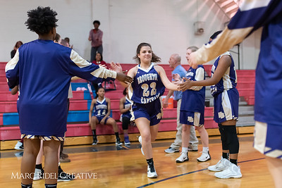 Broughton girls varsity basketball vs Sanderson. February 12, 2019. 750_5815