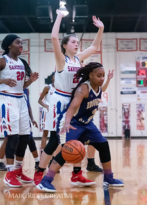 Broughton girls varsity basketball vs Sanderson. February 12, 2019. 750_5988