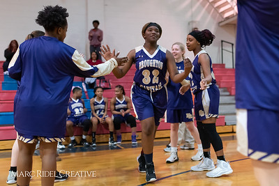 Broughton girls varsity basketball vs Sanderson. February 12, 2019. 750_5803