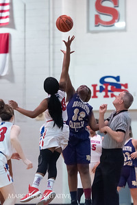 Broughton girls varsity basketball vs Sanderson. February 12, 2019. 750_5837