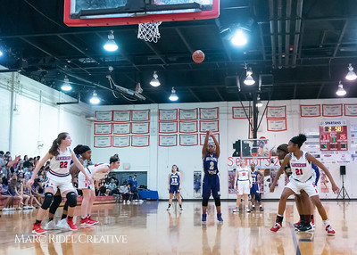 Broughton girls varsity basketball vs Sanderson. February 12, 2019. 750_5994