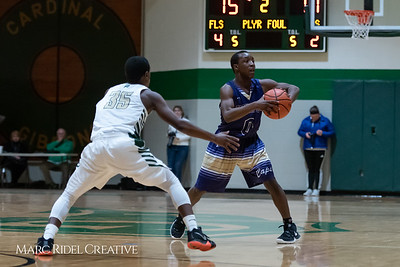 Broughton boys varsity basketball vs Cardinal Gibbons. January 11, 2019. 750_2498