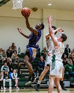 Broughton boys varsity basketball vs Cardinal Gibbons. January 11, 2019. 750_2447