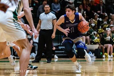 Broughton boys varsity basketball vs Cardinal Gibbons. January 11, 2019. 750_2433