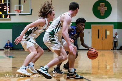 Broughton boys varsity basketball vs Cardinal Gibbons. January 11, 2019. 750_2541