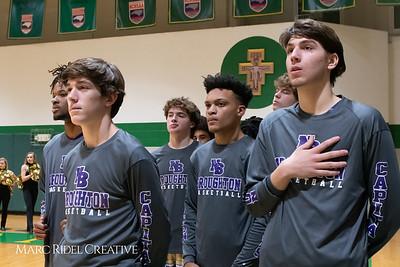 Broughton boys varsity basketball vs Cardinal Gibbons. January 11, 2019. MRC_1292