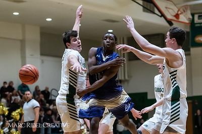 Broughton boys varsity basketball vs Cardinal Gibbons. January 11, 2019. 750_2504