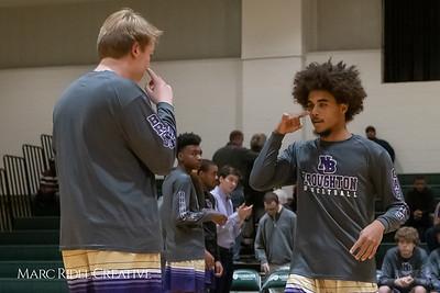 Broughton boys varsity basketball vs Cardinal Gibbons. January 11, 2019. MRC_1308