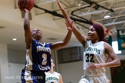 Broughton girls varsity basketball vs Cardinal Gibbons. January 11, 2019. 750_2047