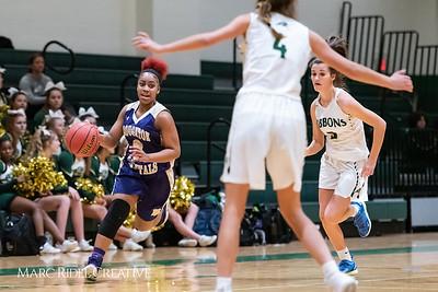 Broughton girls varsity basketball vs Cardinal Gibbons. January 11, 2019. 750_2039